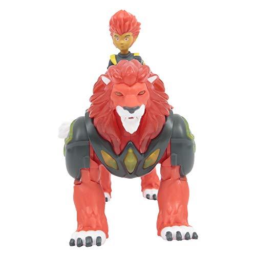 Gormiti Hyperbeast beleuchtet mit Figur von 7 cm Pyron, GRM052, Mehrfarbig
