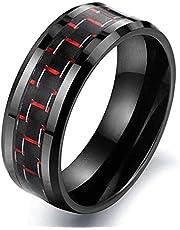 Black Fashion Cool Men Ring