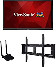 $4955 » Viewsonic - IFP7550-E1 - Viewsonic IFP7550-E1-75 ViewBoard 4K Ultra HD Interactive Flat Panel Bundle - 75 LCD - ARM Cortex A53 1.20 GHz - 2 GB - Infrared (IrDA) - Touchscreen - 16:9 Aspect Ratio -