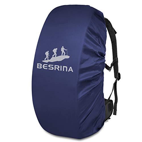 Funda impermeable para mochila Besrina  15 90L   reflectante para para senderismo  acampada
