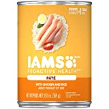 IAMS PROACTIVE HEALTH PUPPY Soft Wet Dog Food Paté With Chicken and...
