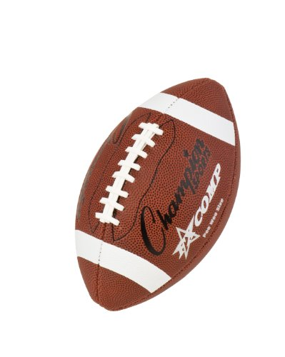 Champion Sports Pee Wee Comp Series Football (Brown)