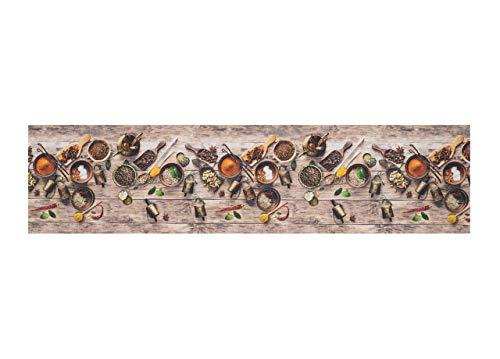 BIANCHERIAWEB Tappeto Passatoia Antiscivolo Stampa Digitale Sprinty L'Originale D. Speziata 50x320 Speziata
