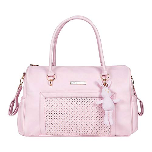 Mayoral - Borsa con peluche, in similpelle, rosa