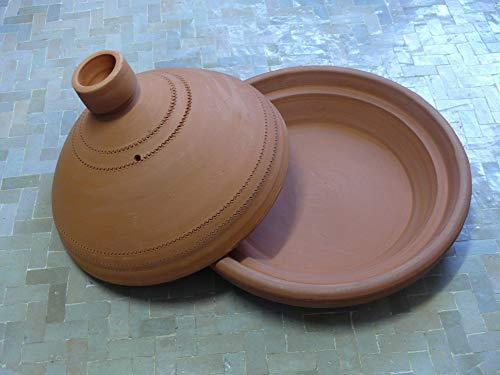 Marokkanische Tajine zum Kochen unglasiert