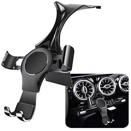 LUNQIN - Soporte para teléfono de coche para Mercedes Benz Clase A A200 A250, accesorios de coche, soporte de navegación, decoración interior, soporte de teléfono celular móvil