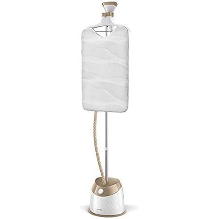 Philips gc524/60–Cuiseur vapeur vertical, 5niveaux de vapeur, avec cintre pour vêtements spéciaux, 1600W, Blanc