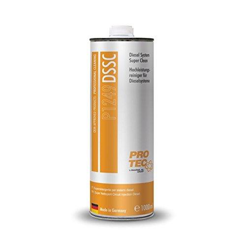 PRO TEC Common Rail Diesel System Clean & Protect Pulitore per moderni sistemi d'alimentazione a gasolio 1 litro P2109