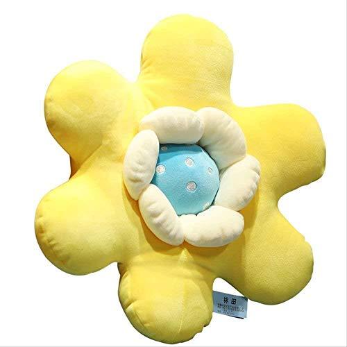 Cylficl. Juguete Suave, 50 cm Flores de Sol, Almohada, Peluche, Peluche, Amortiguador, Cojines para bebé para niños