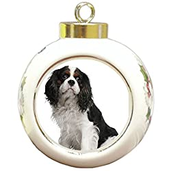 Cavalier King Charles Spaniel Christmas Holiday Ornament[Doggie of the Day/Amazon]
