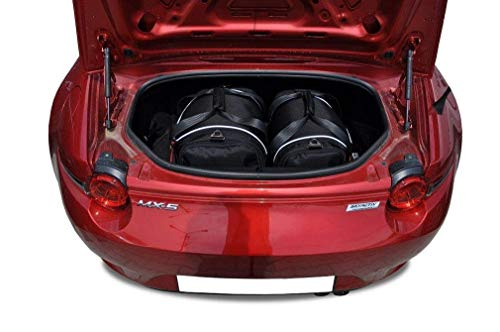 KJUST Dedizierte Kofferraumtaschen 2 STK Set kompatibel mit Mazda MX-5 IV 2015 -