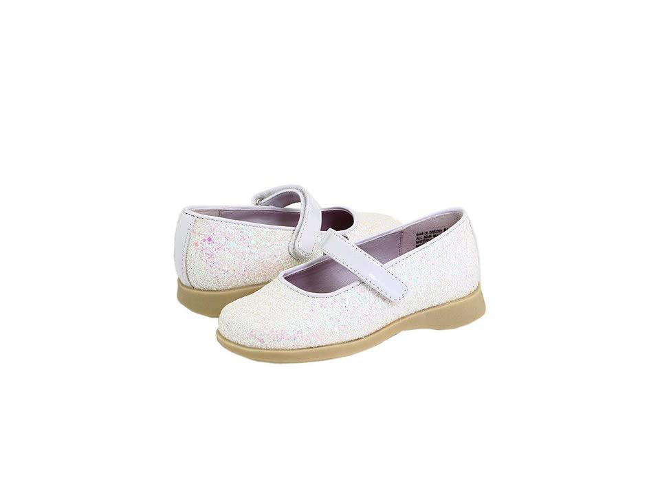Rachel Kids Lil Dorothy (Toddler) (White Glitter) Girls Shoes