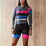 Triatlón se adapta a las mujeres, traje para mujer, traje de ciclismo, desgaste de ciclismo (Color : 6, Size : XX-Large)