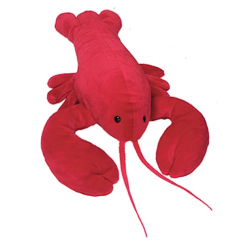 Mary Meyer Stuffed Animal Soft Toy, Lobbie Lobster, 17-Inches
