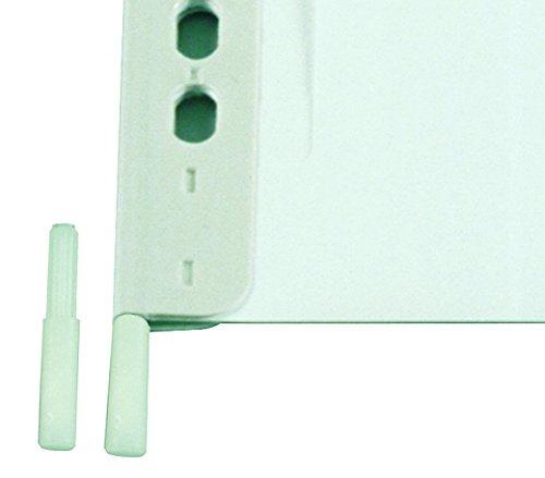 DURABLE Hunke & Jochheim Adapter für Sichttafel, für andere Stecksysteme, Kunststoff, beige, 20 Stück