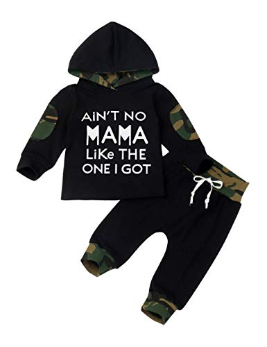 Baby Boy Clothes Funny Letter Pr...