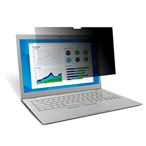3M Privacy Filter for Dell XPS 13 2-in-1 Model 7390 with COMPLY Attachment System, touch optimised