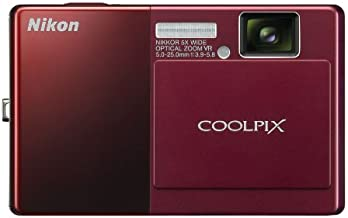 Nikon Coolpix S70 12.1MP Digital Camera with 3.5-inch OLED Touch Screen and 5x Wide Angle Optical Vibration Reduction (VR)...