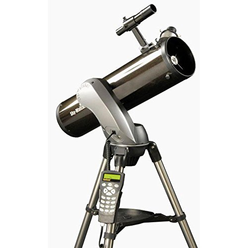 Skywatcher Skyhawk-130P SynScan AZ Goto - Telescopio Refractor (controlado por Ordenador, 130 mm, f/650), Color Negro