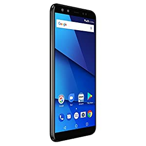 "BLU VIVO X – 6.0"" HD+18:9 Display Smartphone with Dual Front and Rear Cameras –Black"