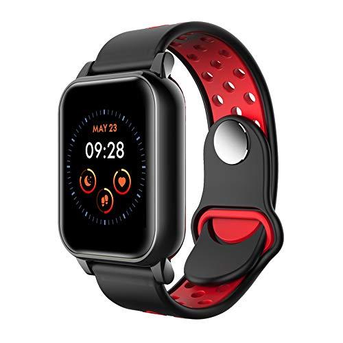 N\\A Smartwatch, Reloj Inteligente con Pulsómetro, Cronómetro, Calorías, Monitor de Sueño, Podómetro Pulsera Actividad, El Reloj Impermeable IP67 es Adecuado para Android iOS Huawei Samsung Xiaomi