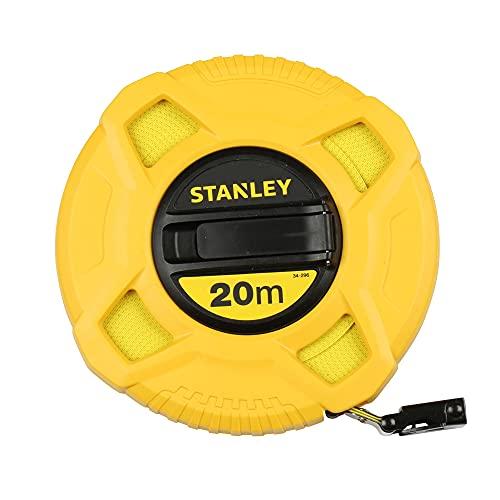 STANLEY 0-34-296 Cinta métrica arrollable Fibra de Vidrio, 20 m, 20m
