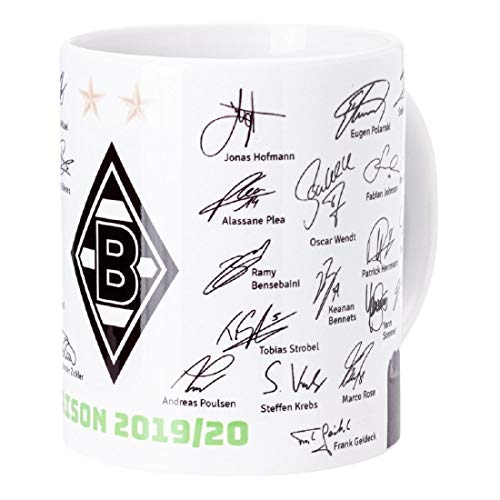 Borussia Mönchengladbach Unterschriftentasse 19/20