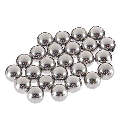 uxcell 1.2mm Bearing Balls 304 Stainless Steel G100 Precision Balls 100pcs