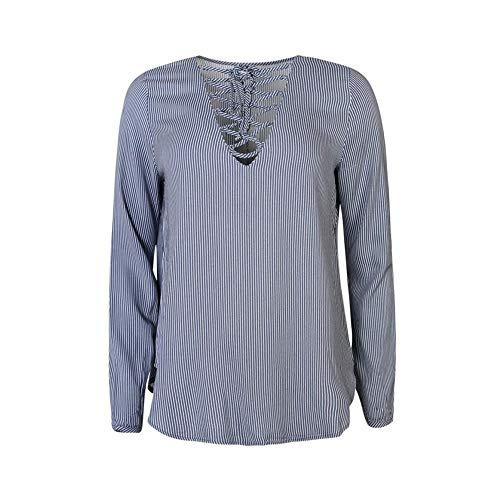 JACQUELINE de YONG blouse viscose shirt JDYBAULEY LACE UP TOP 15129137