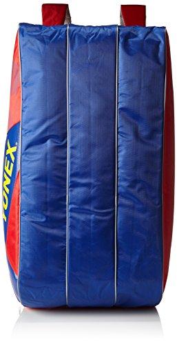Yonex Schlägertasche Active Series Racket Bag 9er, rot, 75 x 36 x 32 cm, 86 Liter, BAG8529EX-rdbl