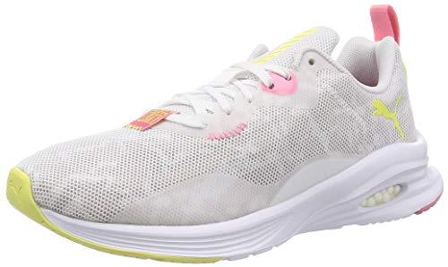 PUMA Hybrid Fuego FM Camo Wns, Zapatillas de Running Mujer, Blanco White/Tapioca, 38 EU