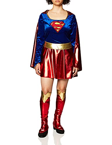 Secret Wishes Official Sexy Supergirl Costume, XS to Plus Size