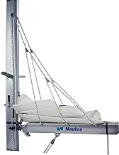 Nautos 001R - Lazy Jack Type A - Small Size - for Sailboats up to 31'- Complete kit with Rope Included