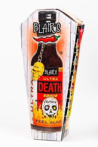 Blair's Ultra Death Sauce in Coffin