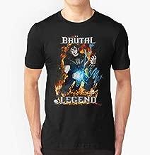 Brutal Legend Edaie Riggs Slim Fit T-Shirt For Man & Woman