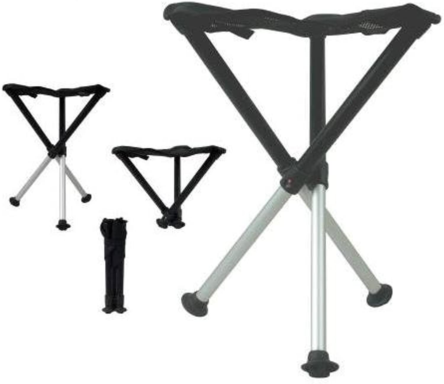 Walkstool 63547 Comfort Compact Stool Portable Folding Chair with Case