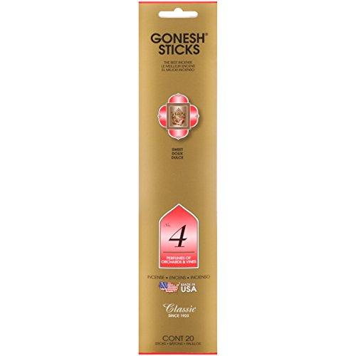GONESH(ガーネッシュ) GONESH インセンススティックNo.4 NO,4 65mm×7mm×310mm