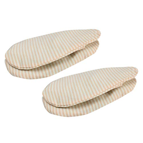 Healifty 2 Piezas Paquete de Terapia de Mama Almohadillas de Gel de Mama Bolsa de Hielo Almohadilla térmica de Terapia de Calor y frío para Mujer Dama Femenina