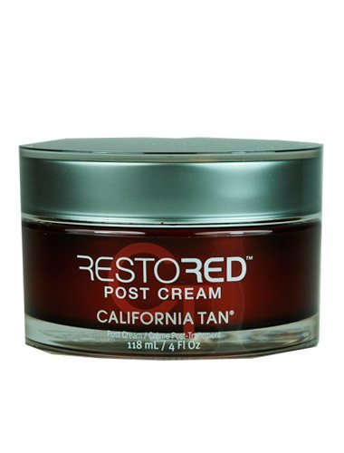 California Tan Restored Post Creme Red Light Therapy 4z Jar NEW