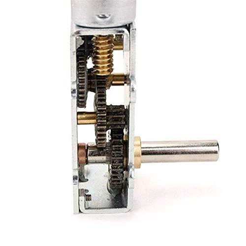 Allamp Piezas mecánicas, GW180 Baja Velocidad de Alto par Motor Turbo DC 12V 13rpm Gusano Cajas Reductoras de Engranajes Reductor del Motor Herramientas industriales