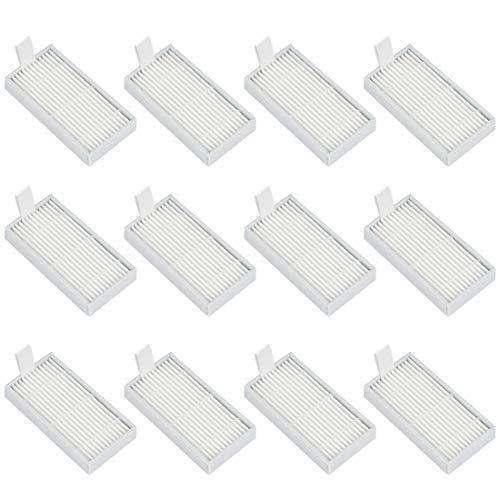 K KUMEED 12 Stück Ersatz Filter Staubfilter Hepa Filter für Medion MD18500 MD18600 MD18501 MD16192 Staubsauger