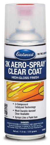 Eastwood Durable Paint 2K Aerosol High Gloss Clear Spray 12 Oz
