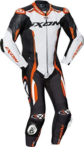 Ixon Vortex 2 1-Teiler Motorrad Lederkombi Schwarz/Weiß/Orange XXL