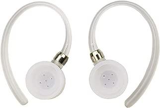 2 Earhooks 3 Eargels for Motorola Elite Flip HZ720 HX550 H19txt H19 H17txt H17 H525 H520 Boom 89605N Bluetooth Wireless Headset Ear Hooks Loops Clips Ear Gel Bud Tip Earbud