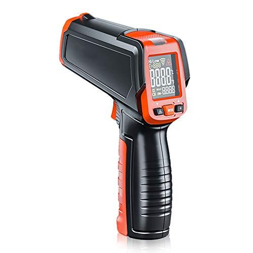 ZXlife @ digitale thermometer zonder industrieel contact, met alarm, hoge en lage temperatuur, snelle respons, wisselbare temperatuur