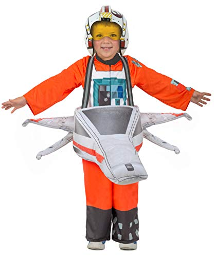 Princess Paradise Child's Star Wars Ride-in X-Wing Fighter Costume, Medium-Large