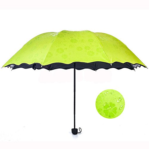 Find Discount Geartist UM02 Folding Umbrella Magical Bloom Flower in Rain Water Fashion Exquisite Wi...