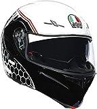 AGV COMPACT ST DETROIT CASCO INTEGRAL (FULL FACE) BLANCO NEGRO XL