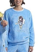 SANTORO GORJUSS Pijama Calentito Manga Larga Bubble Fairy para Mujer