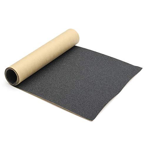 dDanke Skateboard Griptape rutschfest Selbstklebend Aufkleber Longboard Sandpapier 110X27cm Schwarz